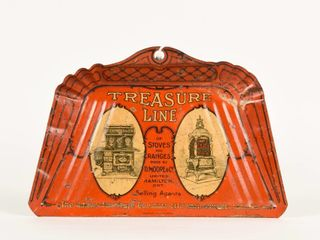 TREASURE lINE FOR STOVES TIN lITHO DUST PAN