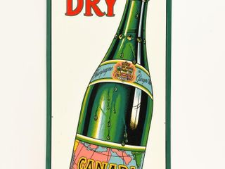 CANADA DRY CHAMPAGNE OF GINGERAlE SST SIGN