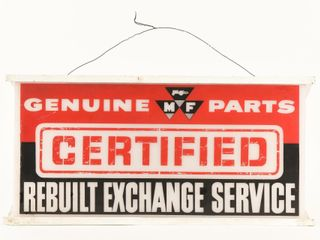 GENUINE PARTS M F CERTIFIED SERVICE lIGHT BOX