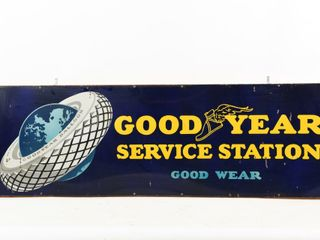 RARE GOODYEAR SERVICE STATION  GOOD WEAR  SSP SIGN