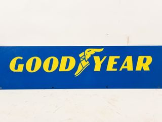 GOODYEAR D S PAINTED METAl RACK TOPPER