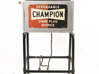 DEPENDABlE CHAMPION SPARK PlUG SERVICE  STAND