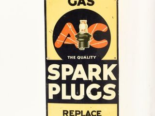 EARlY A C QUAlITY SPARK PlUGS SST SIGN