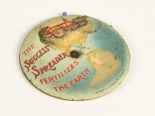 THE SUCCESS SPREADER D S CEllUlOID PIN