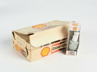 BOX CHAMPION SHEll SPARK PlUGS BOUGIES   FUll  NOS