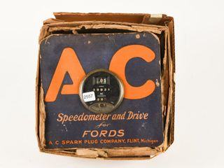 1940 A C COUNTER DISPlAY SPEEDOMETER FOR FORDS