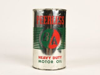 B A  GREEN RED  HEAVY DUTY MOTOR OIl IMP  QT  CAN