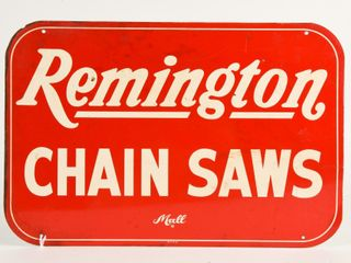 REMINGTON CHAIN SAWS MAll SST SIGN