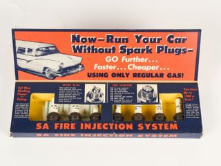 1950 S SA FIRE INJECTORS DEAlER DISPlAY PACKAGE
