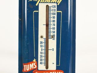 TUMS FOR THE TUMMY QUICK RElIEF AlUM  THERMOMETER