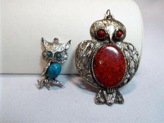 Owl Pendants  2