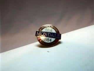 1984 Democratic Convention Pin  Mondale