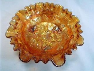 Carnival Glass Bowl  8