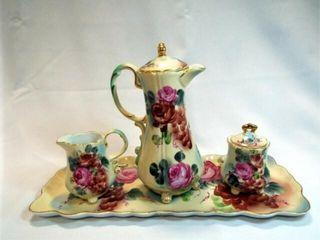 Nippon Tea Set  Hand painted  4