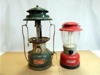 Coleman lanterns  2