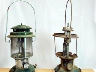 Coleman lantern  Incomplete lantern  2