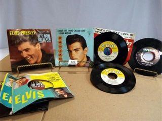 7  Records   Elvis  Fabian  Darrin  Nelson  5