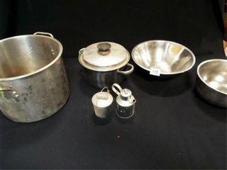 Metal Pots  Bowls  Etc   6