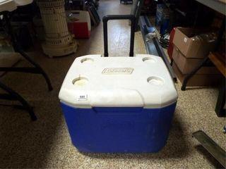 Coleman Wheeled Cooler  21  x 15