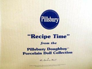 Pillsbury Doughboy  Recipe Time  in box