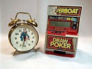 Frog Clock  Poker Game  2
