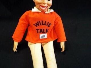 Willie Talk Ventriloquist Doll