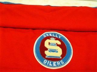 Skelly Oilers Blanket  47  x 60