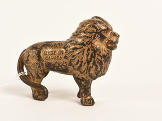 1920 S CANADIAN BEAVERTON CAST IRON lION