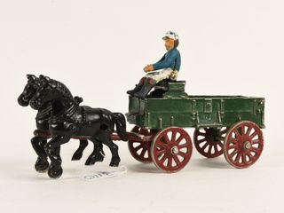CANADIAN ROYAl HORSE DRAWN CAST AlUMINUM WAGON