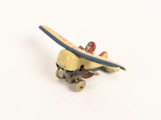 lOOP lOOP WIND UP TIN lITHO AIRPlANE
