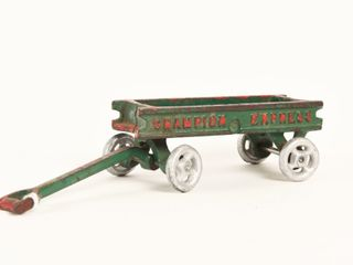 1920 S CHAMPION CAST IRON WAGON