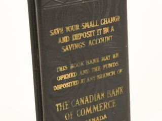 THE CANADIAN BANK OF COMMERCE COIN BANK