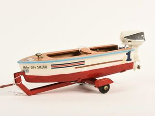 lANG CRAFT  PINKY  BATTERY OPERATED BOAT   MOTOR