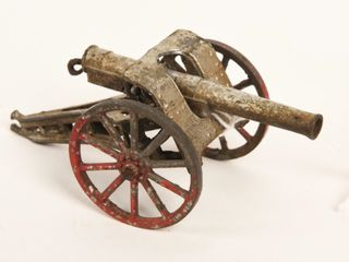 VINTAGE CAST IRON CANNON