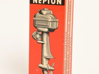 RARE NEPTUNE ElECTRIC OUTBOARD MOTOR   BOX   NOS