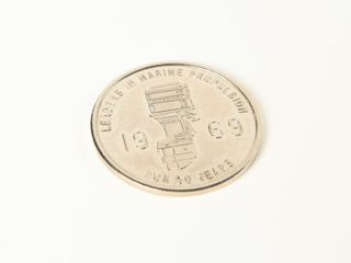 MERCURY OUTBOARD 1939   1969 COMMEMORATIVE COIN