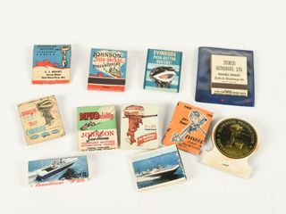 lOT OF 11 VINTAGE ASSORTED MARINE MATCHBOOKS