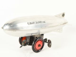 GRAF ZEPPElIN AlUMINUM WIND UP AIR SHIP