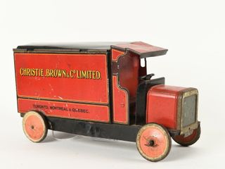 CHRISTIE BROWN CO  TORONTO TIN lITHO TRUCK