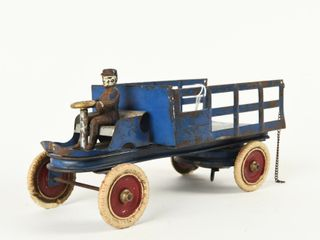 KINGSBURY PRESSED STEEl WIND UP STAKE TRUCK