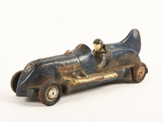 RACE CAR CAST IRON   REPRO