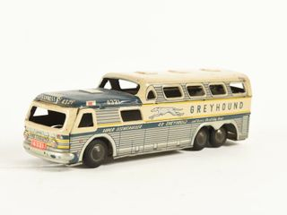 GREYHOUND TIN lITHO BUS