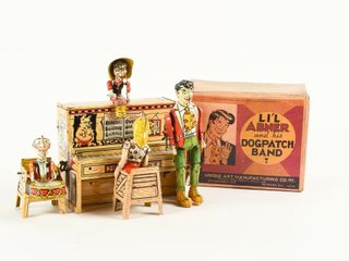 RARE lITTlE ABNER   HIS DOGPATCH BAND   BOX