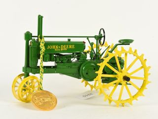 JOHN DEERE GENERAl PURPOSE TRACTOR MEDAllION