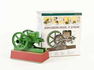 JOHN DEERE MODEl E ENGINE BAT  OP  REPlICA