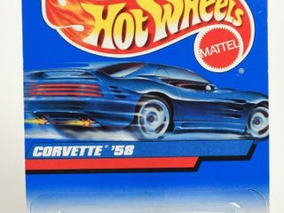 HOT WHEElS 1958 CORVETTE  PACKAGING   NOS
