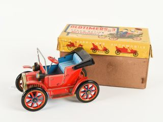OlDTIMERS NO 3 lEVER ACTION CAR   BOX