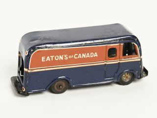 EATONS OF CANADA TIN FRICTION DElIVERY VAN