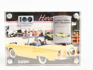 ZIPPO 1955 FORD THUNDERBIRD COllECTOR lIGHTER