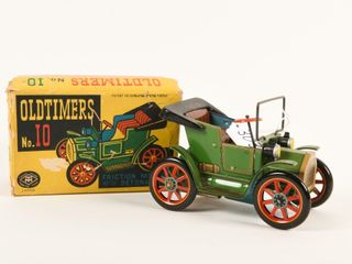 MODERN TOYS OlDTIMERS NO  10 FRICTION CAR   BOX